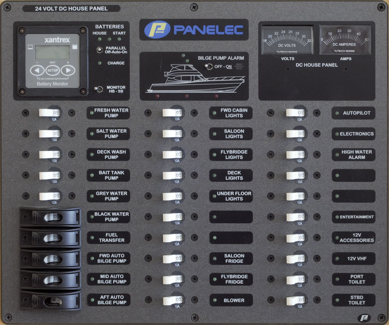 Panelec Marine Electrical Panels